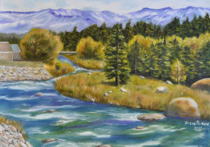 Truckee River from River Road